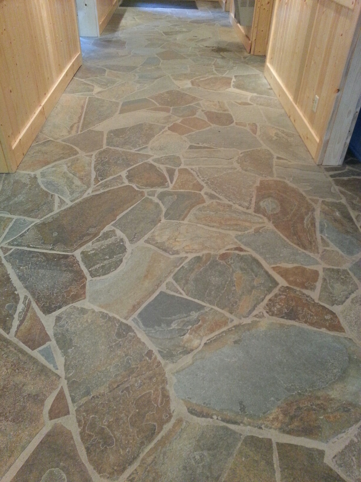 Stone fabrication installation scrivanich natural stone a natural stone hallway example dailygadgetfo Image collections