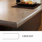 Crescent Countertop Edge Profile