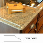 Deep Ogee Countertop Edge Profile