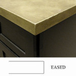 Eased Countertop Edge Profile
