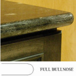 Full Bullnose Countertop Edge Profile