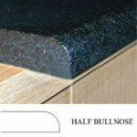Half Bullnose Countertop Edge Profile