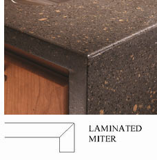 Laminated Miter Countertop Edge Profile