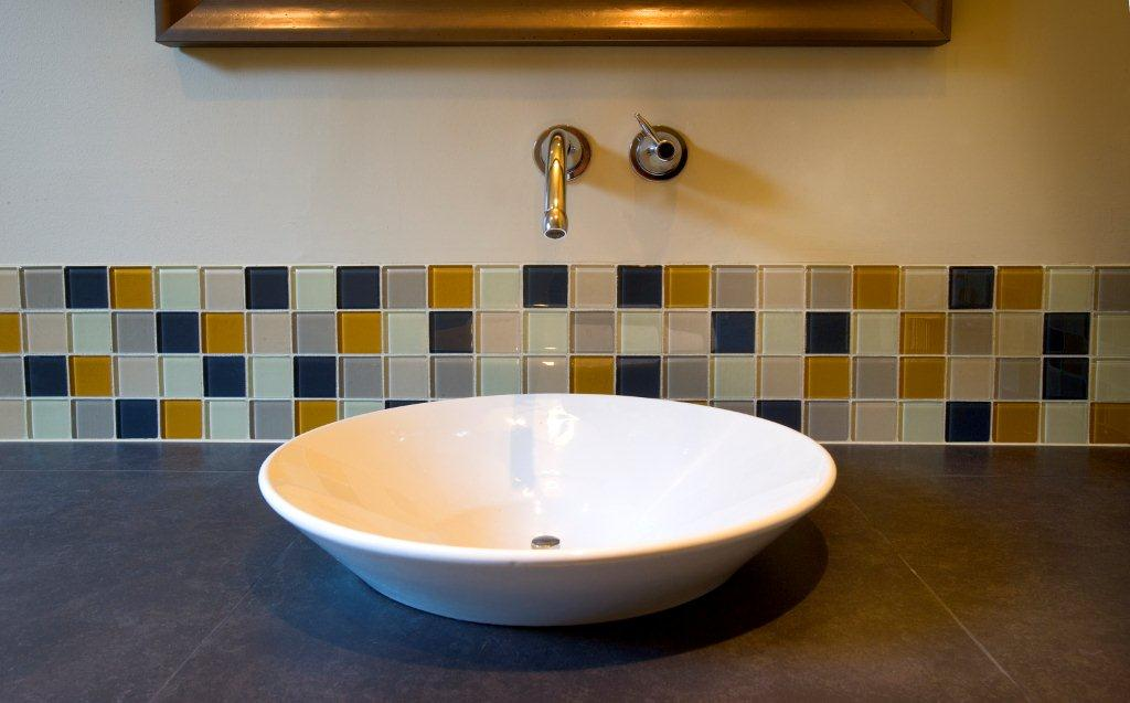 Examples of our work scrivanich natural stone for Backsplash ideas for bathroom sinks